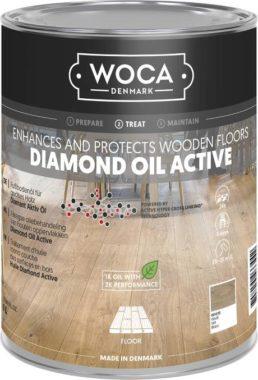 diamond oil active white